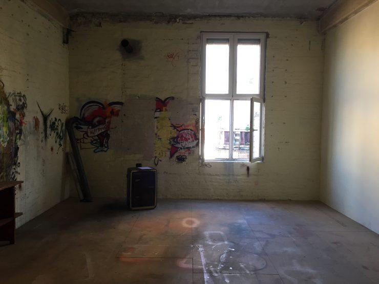 Pete Schröder's Atelier in der Phrix-Fabrik Hattersheim Okriftel