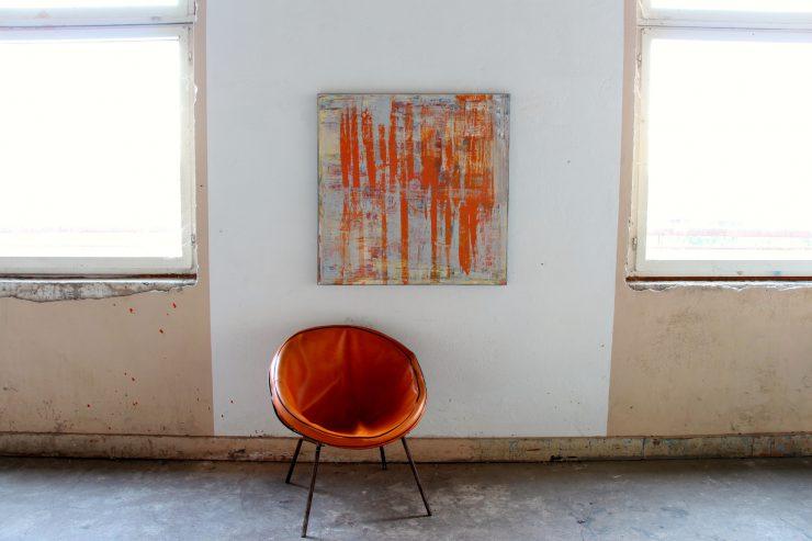 Abstraktes Bild von Pete Schroeder