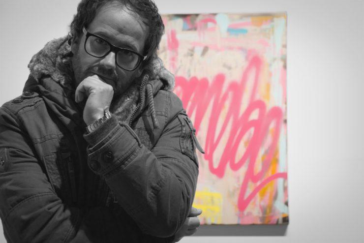 Zeigt den Maler Pete Schröder