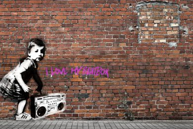 Im Stil von Banksy